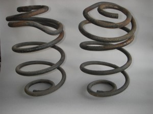 Cutting Coil Springs - EATON Detroit Spring