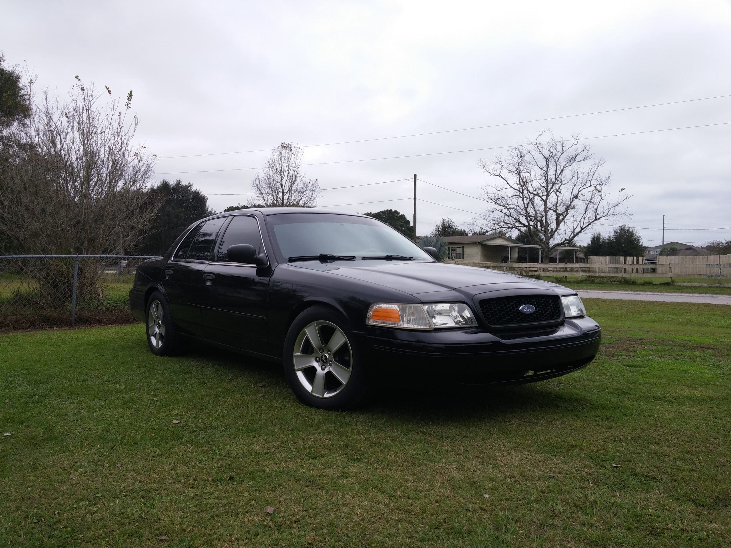 Crown Victoria with new coil springs