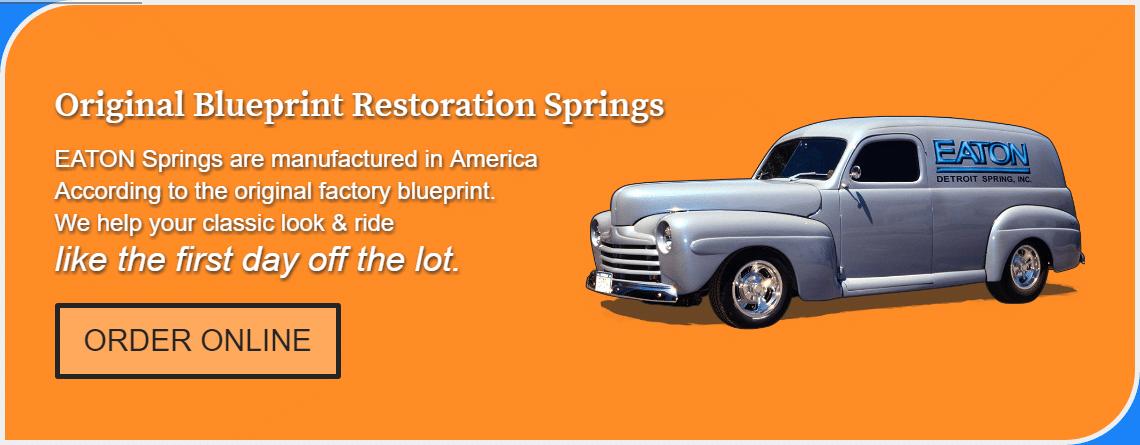 Original Blueprint Restoration Springs